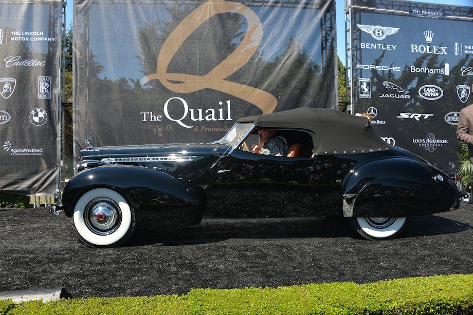 1940 Packard Darrin Victoria