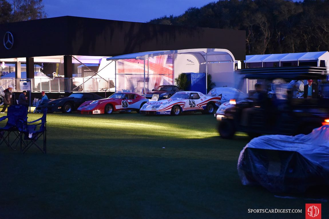 Early morning at the Amelia Island Concours 2016