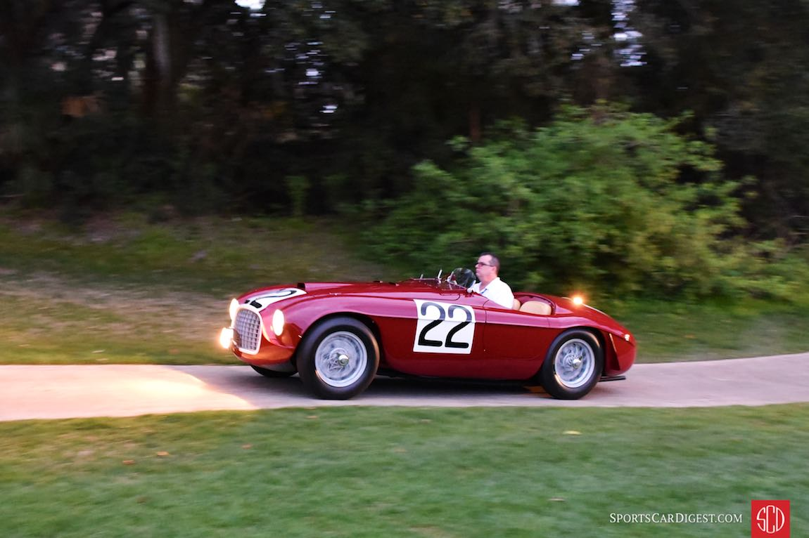 1949 Ferrari 166 MM Barchetta, winner of the 24 Hours of Le Mans
