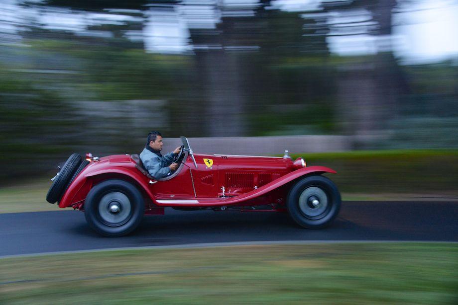 1932 Alfa Romeo 8C 2300 Scuderia Ferrari Zagato Spider