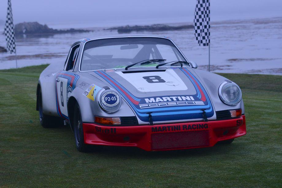 Porsche 911 Carrera RSR Coupe, overall winner of the Targa Florio in 1973