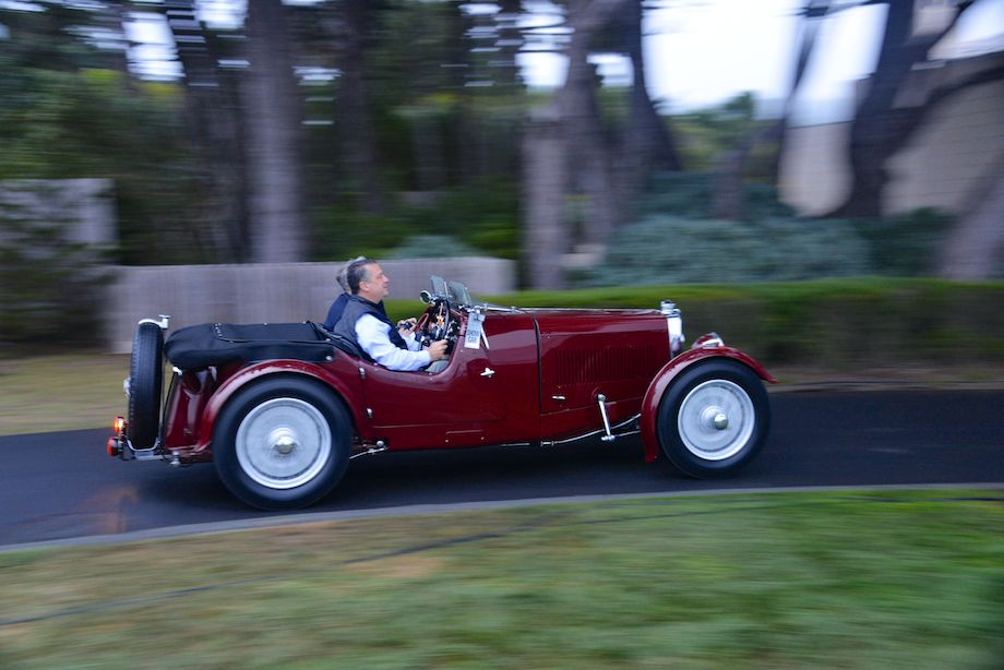 1934 Aston Martin Mark II Short Chassis 2/4 Seater