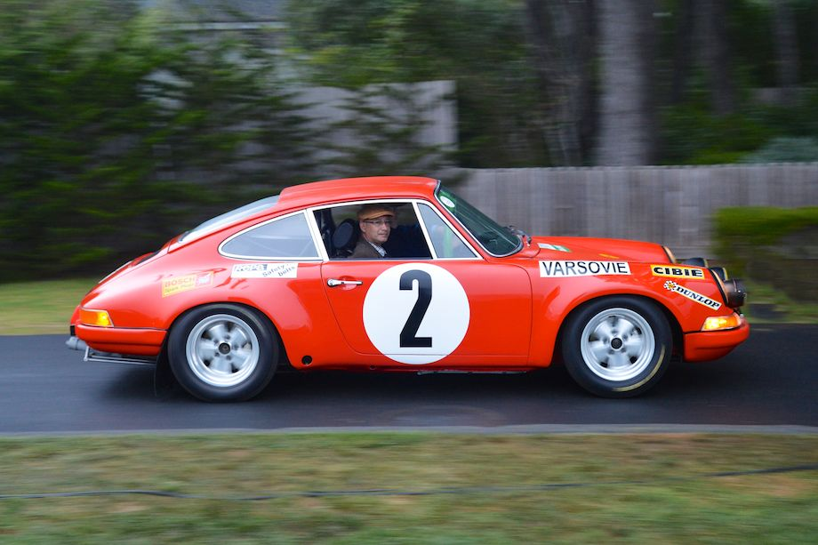 1970 Porsche 911S Prototype finished 2nd overall in the 1970 Monte Carlo Rallye