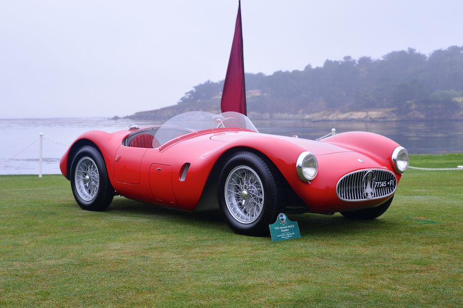 1954 Maserati A6GCS Roadster finished 12th overall and 3rd in class at 1955 Mille Miglia