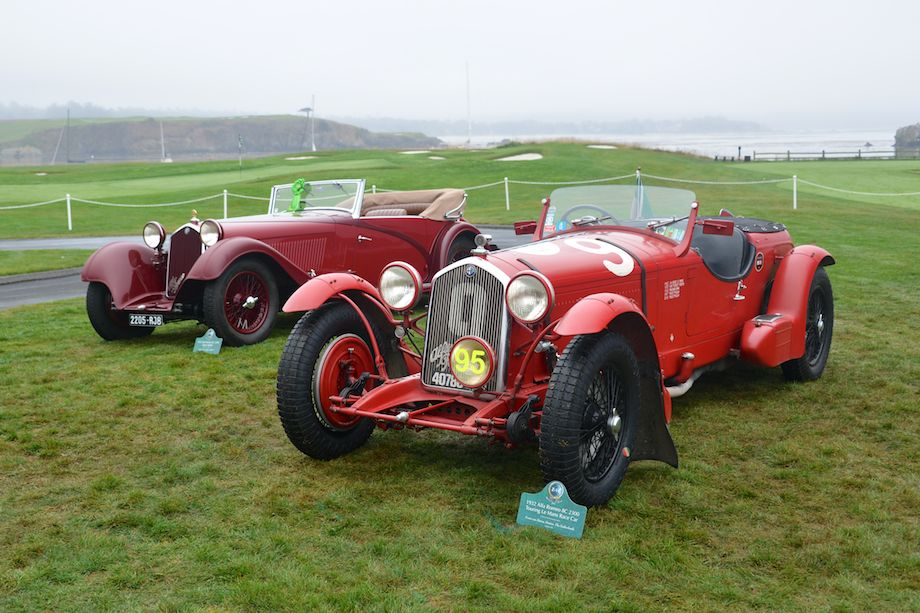 1932 Alfa Romeo 8C 2300 Touring Le Mans Race Car and 1934 Alfa Romeo 8C 2300 Figoni Spider