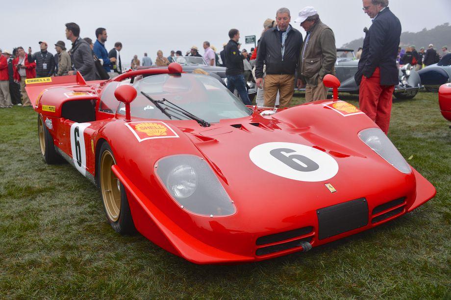 1970 Ferrari 512 S Berlinetta was raced by Scuderia Ferrari at the 24-Hours of Daytona and 1000-KM Monza in 1970.
