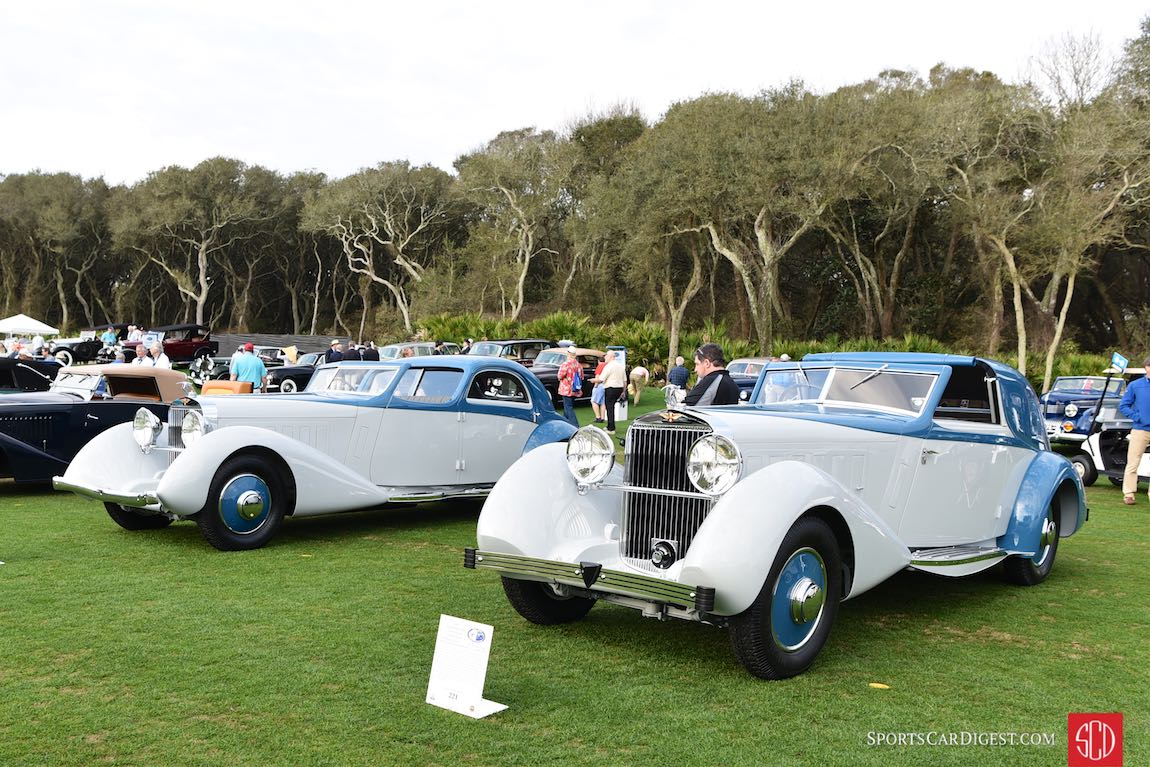 1934 Hispano-Suiza J12 Sedanca Coupe and 1934 Hispano-Suiza K6 Chauffeur Limousine