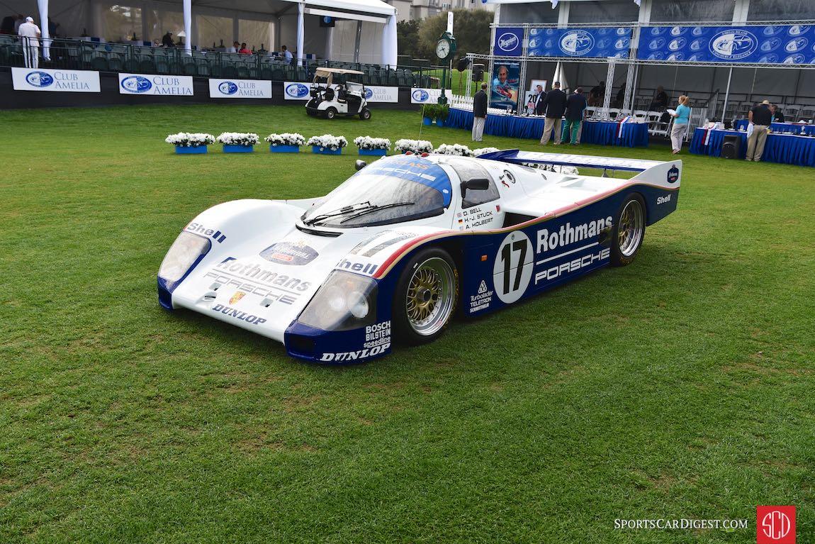 Ex-Hans Stuck Porsche 962