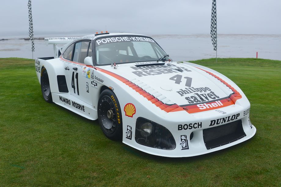 1979 Porsche 935 K3 Coupe, overall winner of Le Mans that year