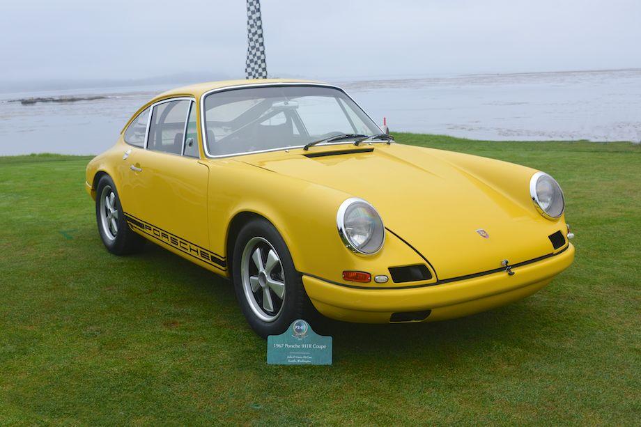 1967 Porsche 911R, last of four 911R prototypes