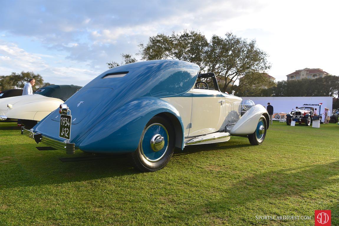 1934 Hispano-Suiza J12 Sedanca Coupe