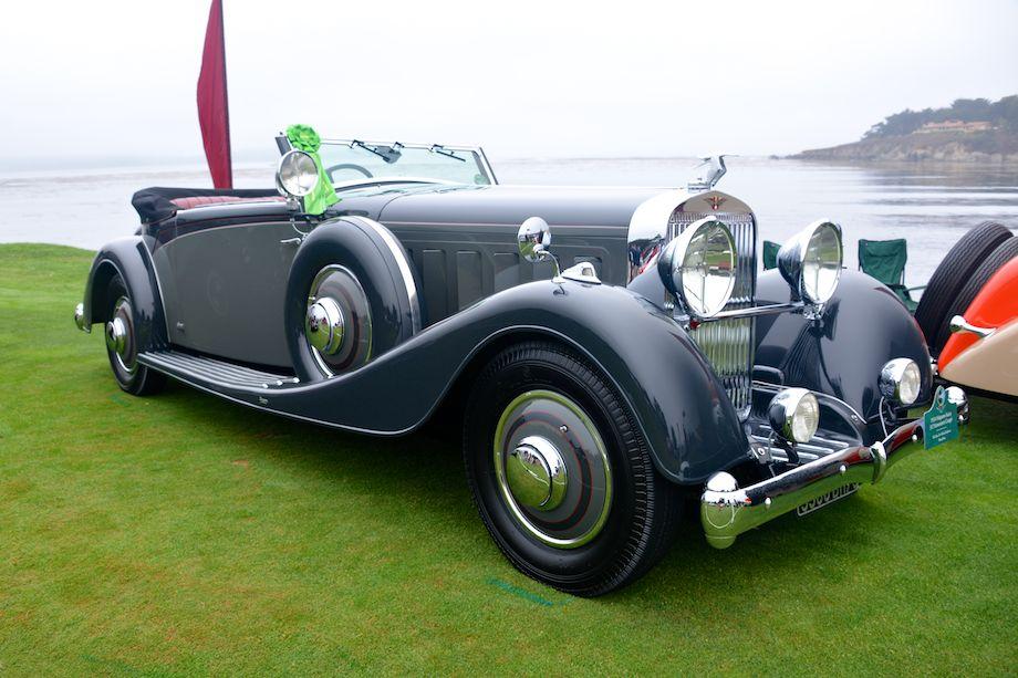 1934 Hispano-Suiza J12 Vanvooren Coupe