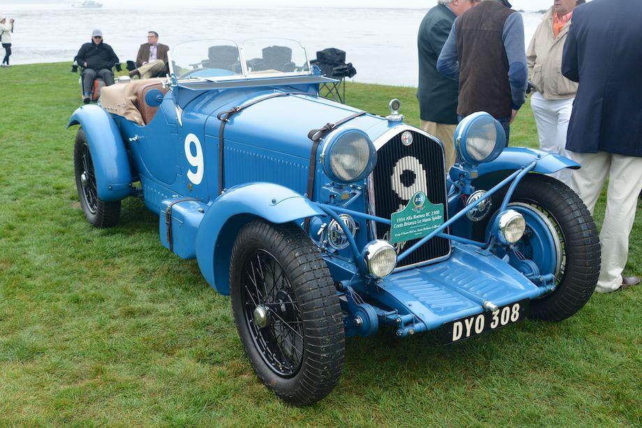 1934 Alfa Romeo 8C 2300 Corto Brianza Le Mans Spider