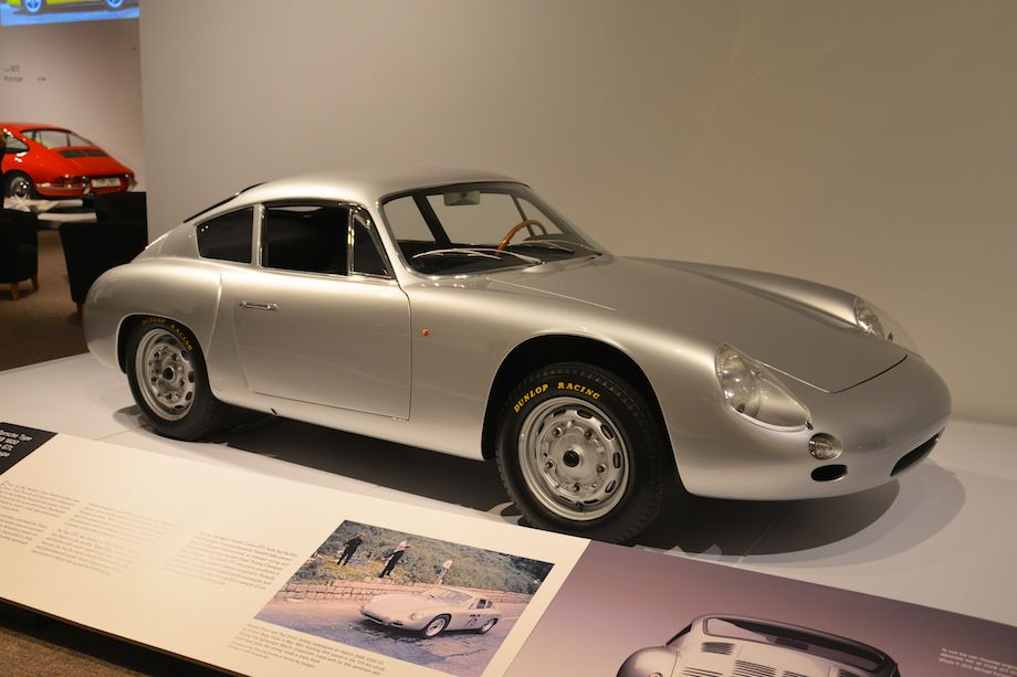 1960 Porsche Type 356B 1600 Carrera GTL Abarth Coupe, Ingram Collection - Handcrafted in Milan by Zagato, this car, the eighth Abarth Carrera GTL built, has the first 693/3A engine. It was purchased by Carl-Gunnar Hammarlund, a Swedish amateur racing and rally driver who won two Swedish Grand Touring Championships in this car. With just under 11,000 miles, this car retains all its original panels and engine.