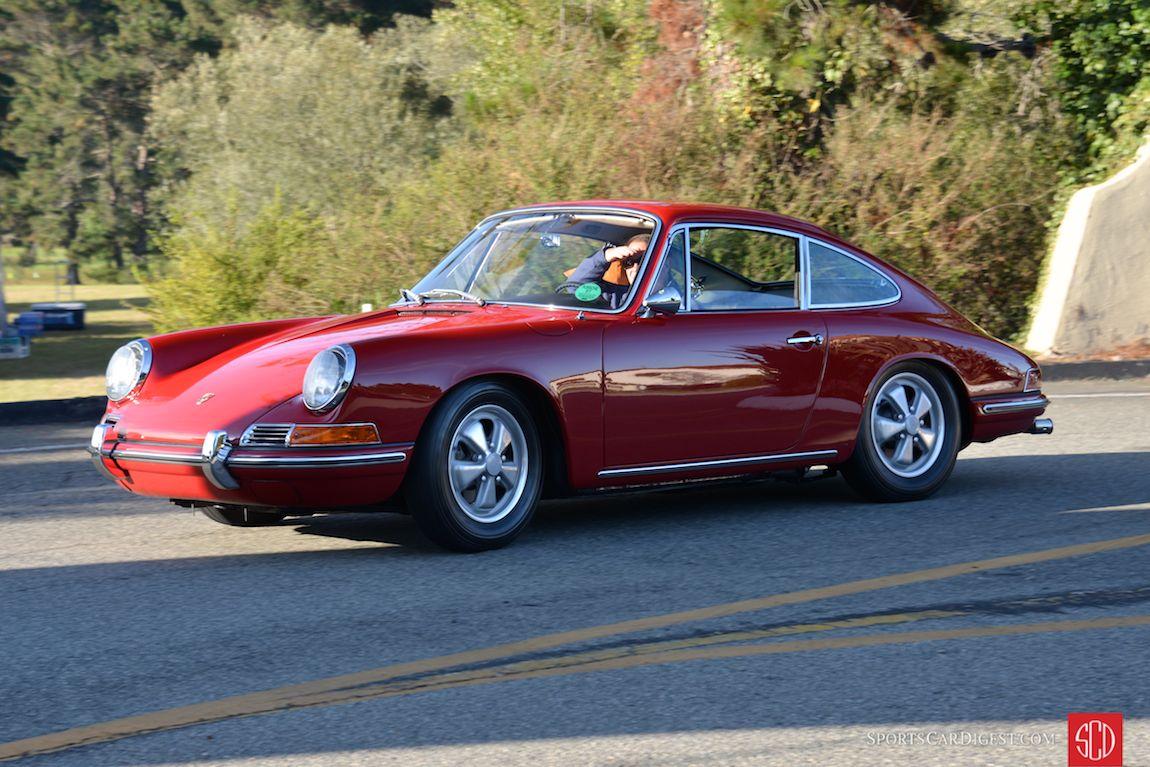 A Short Wheelbase 911 makes an early entrance at Porsche Werks Reunion 2015