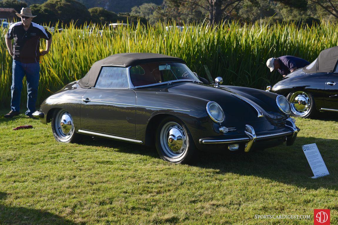 1963 Porsche 356 Roadster at Porsche Werks Reunion 2015