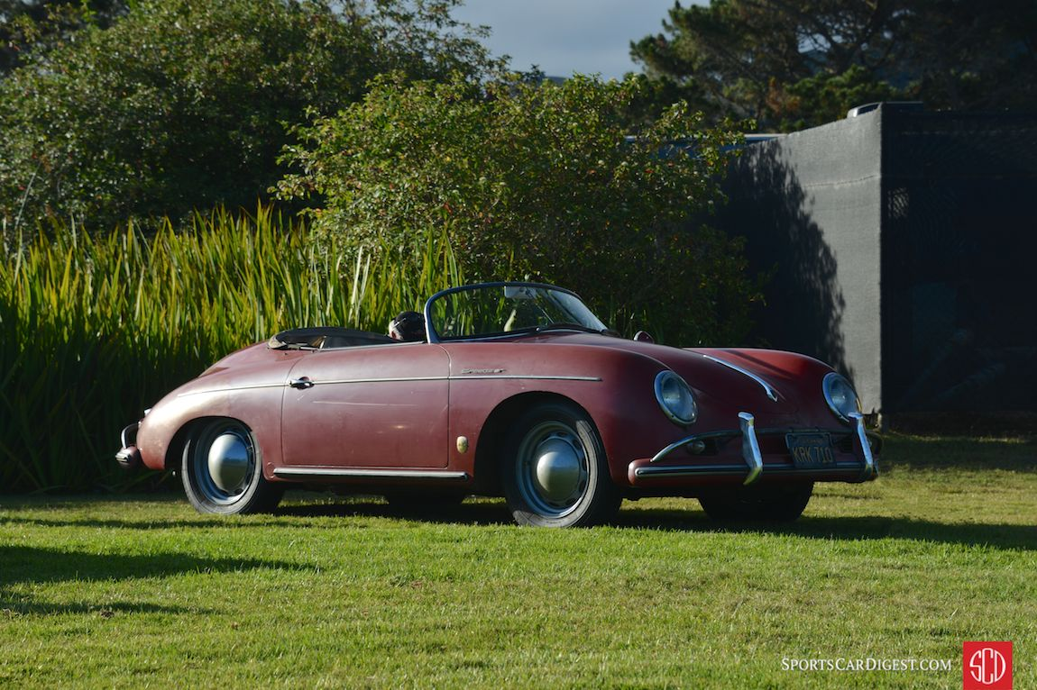 A 356 Speedster that could likely tell some stories at Porsche Werks Reunion 2015