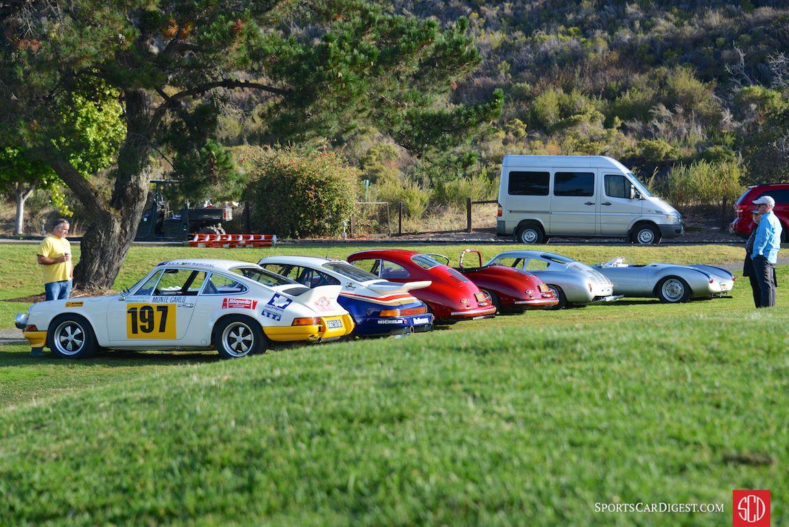 The fabulous Ingram Collection display at Porsche Werks Reunion 2015