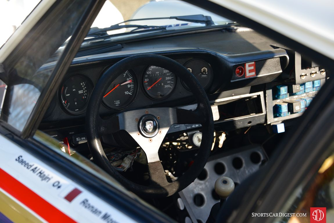 FIA Middle East Rally Championship-winning Rothmans 1984 Porsche 911 SC/RS