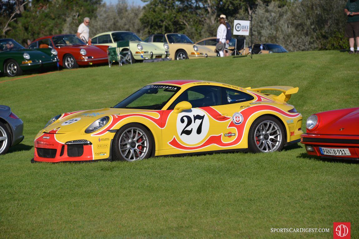 Recognizable liveries at Porsche Werks Reunion 2015