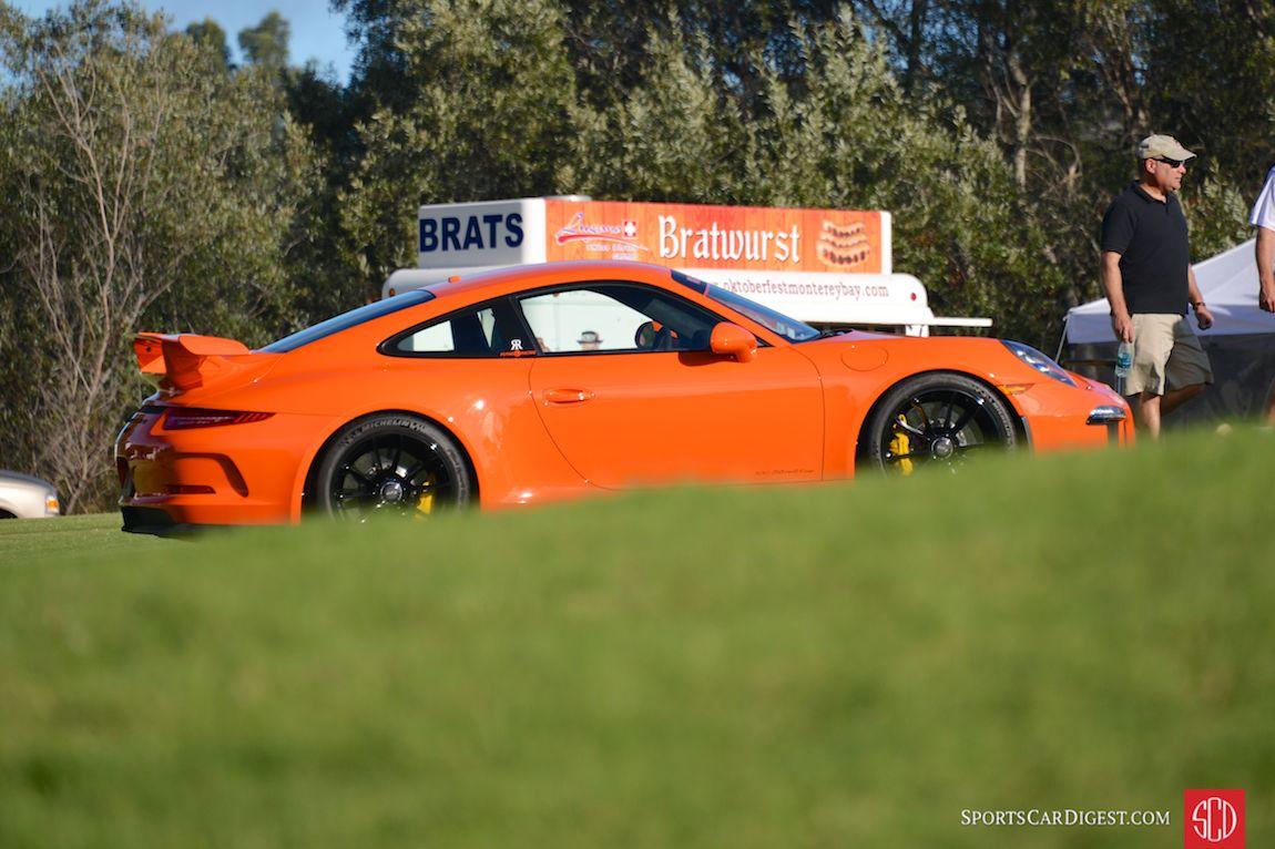 Seeing Orange at Porsche Werks Reunion 2015