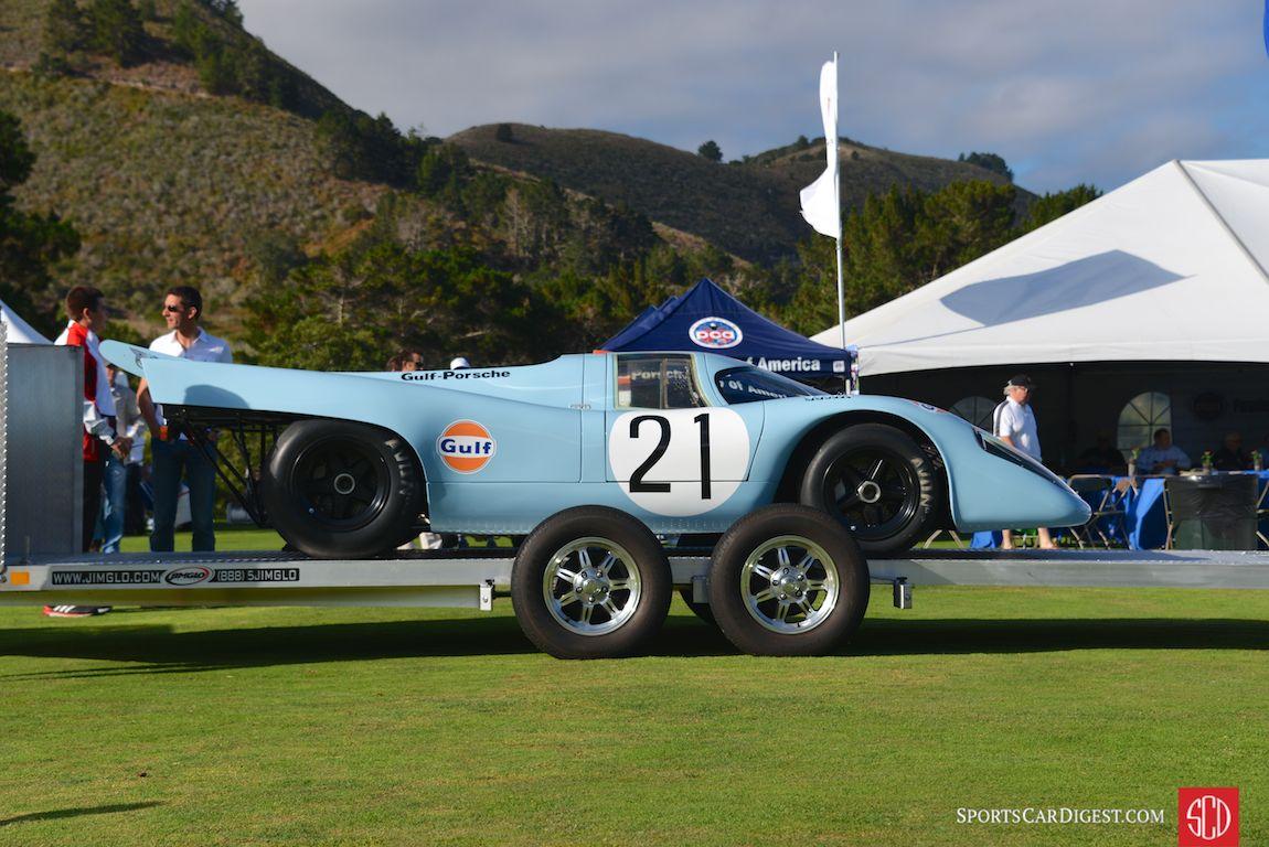 Porsche 917K recently restored by Porsche Motorsport