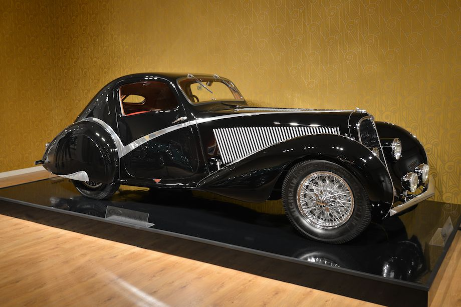 1936 Delahaye Type 135 Competition Court Teardrop Coupe