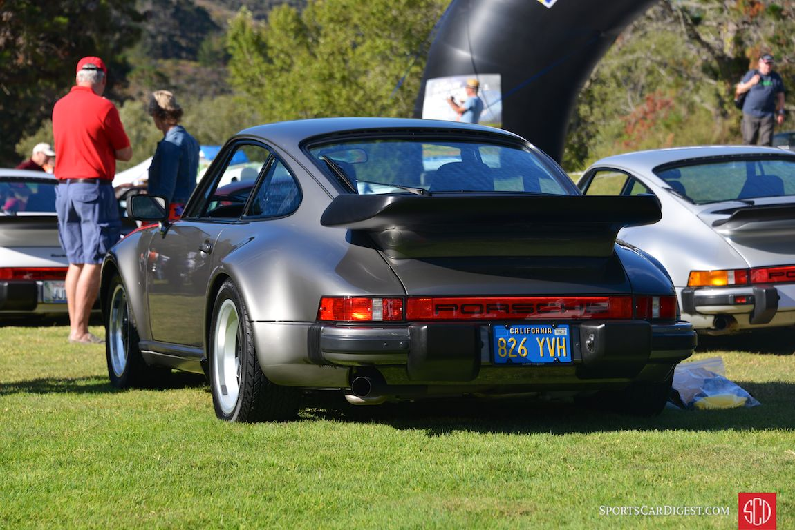 1979 Porsche 911 Turbo that's covered only 1,618 miles since new