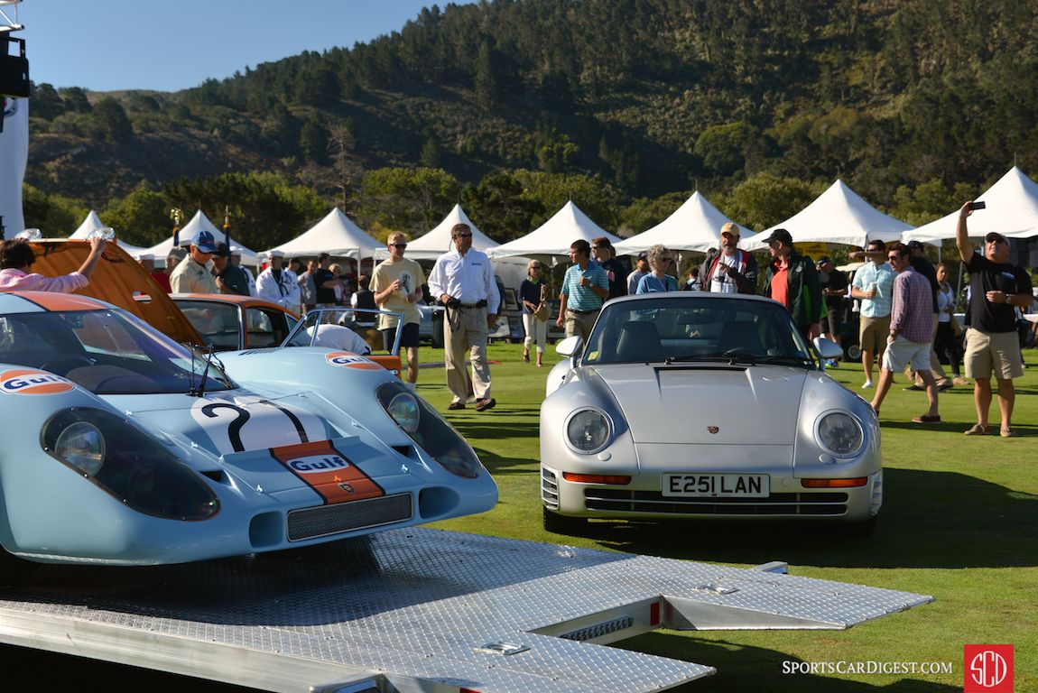 Heroes of their generations at Porsche Werks Reunion 2015