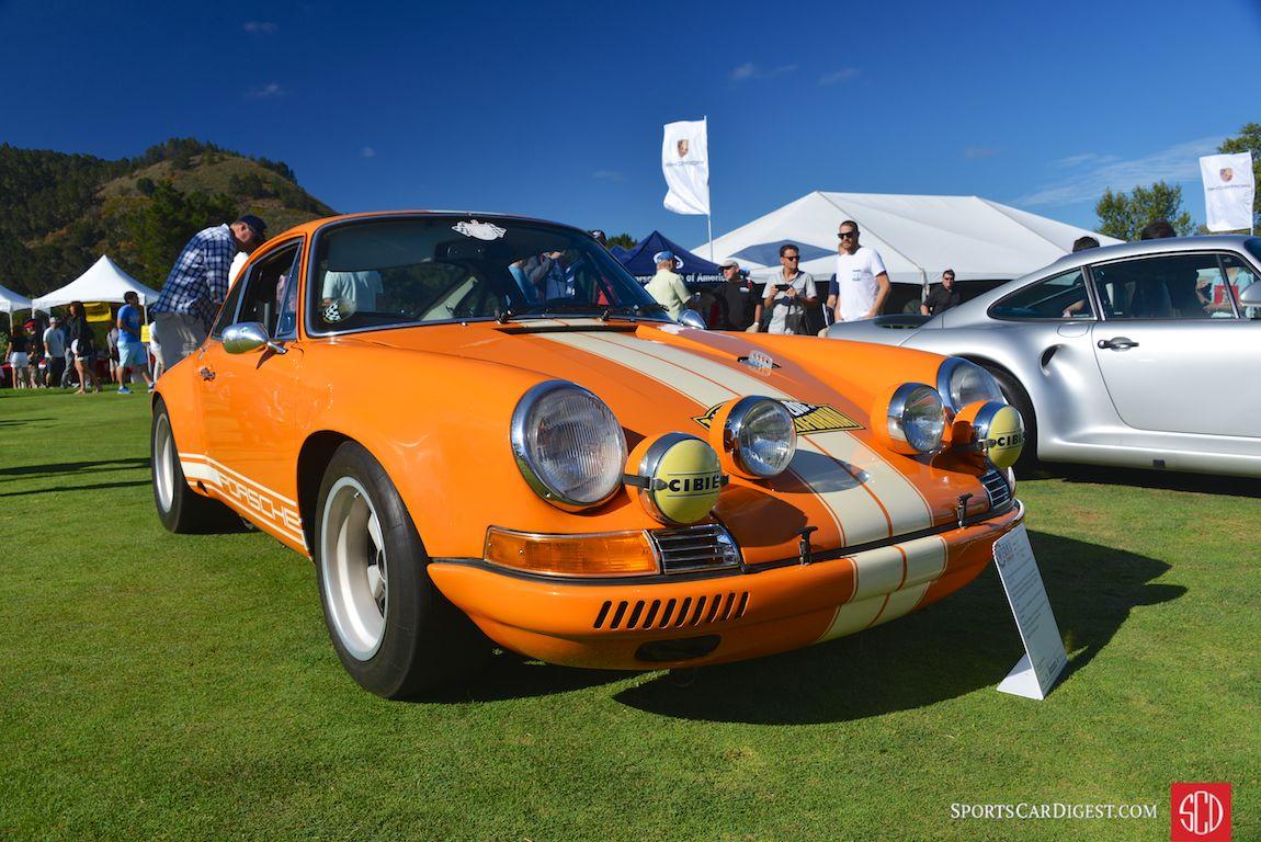 An 'R-Gruppe' inspired hot rod 911 at Porsche Werks Reunion 2015