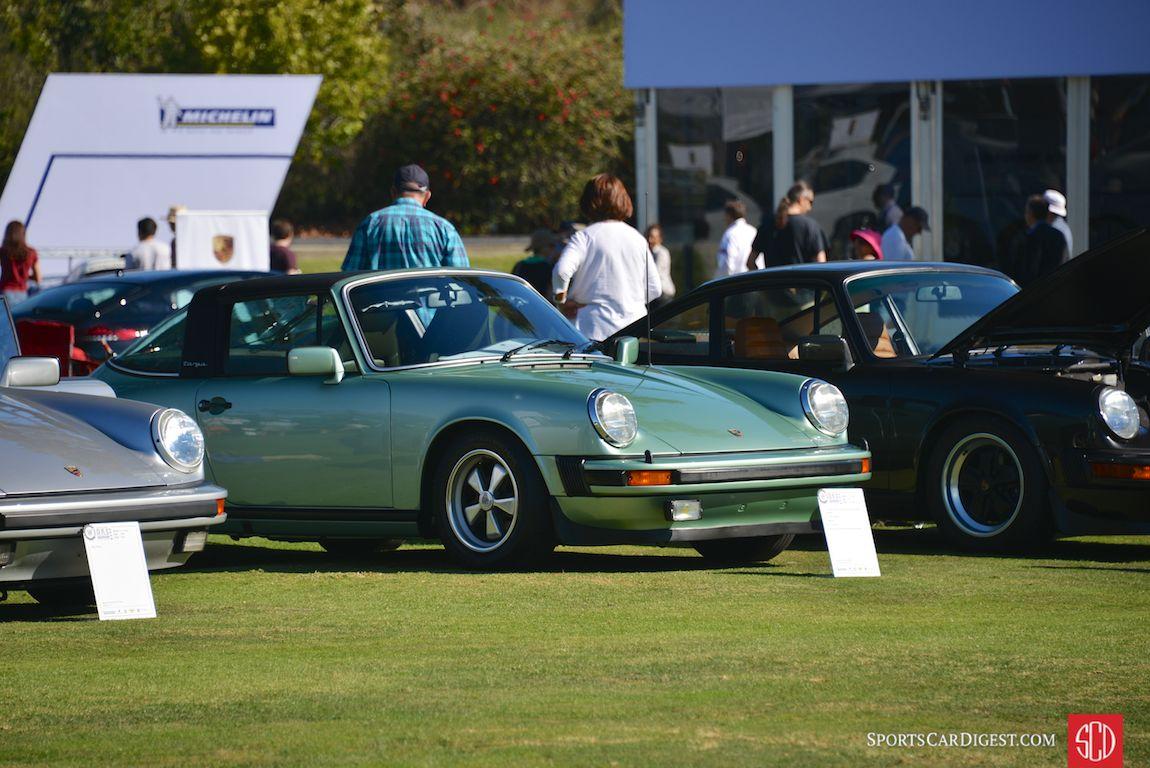 1977 Porsche 911S Targa at Porsche Werks Reunion 2015