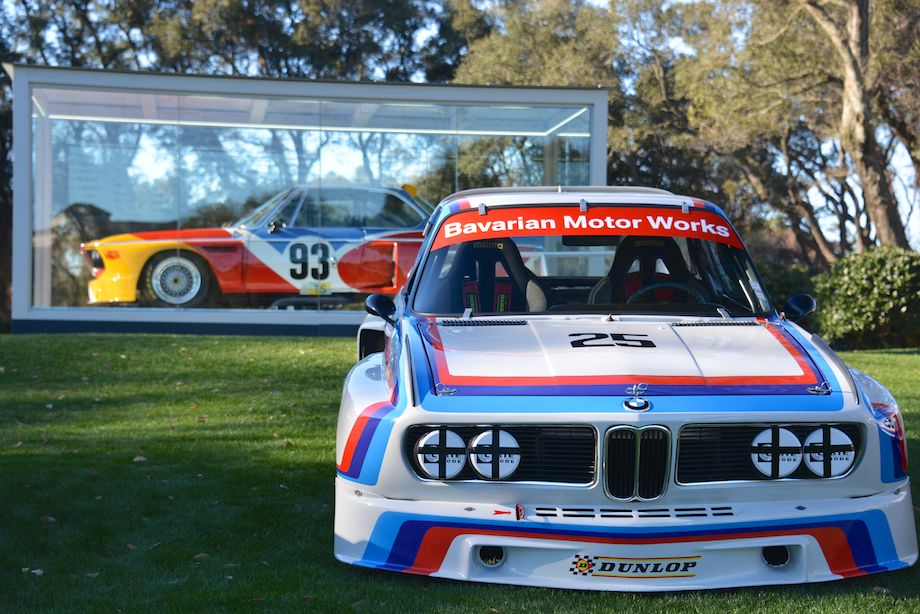 1975 BMW 3.5 CSL Alexander Calder Art Car and 1974 BMW 3.5 CSL