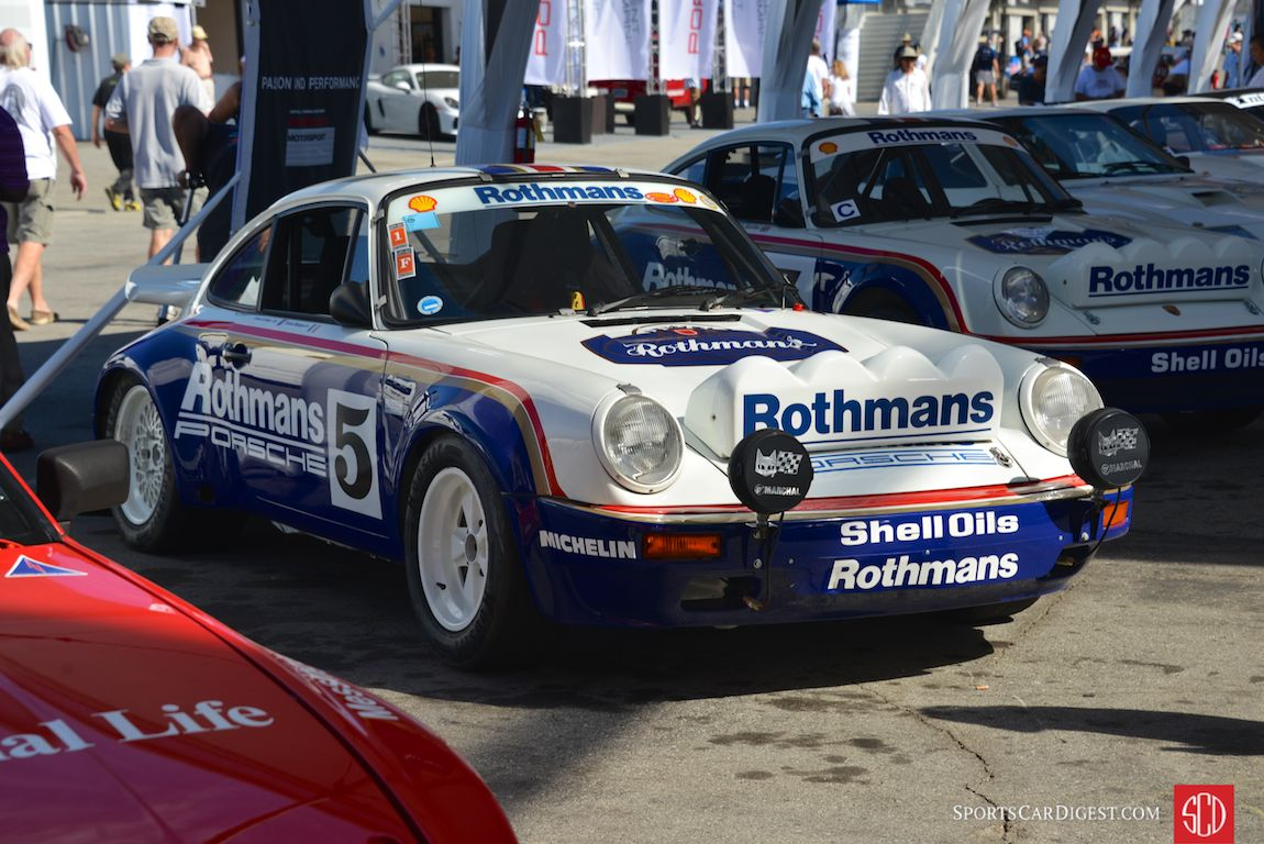 The FIA Middle East Rally Championship-winning Rothmans 1984 Porsche 911 SC/RS
