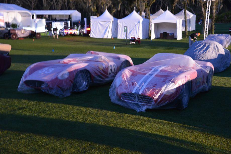 Maserati 450S and 350S