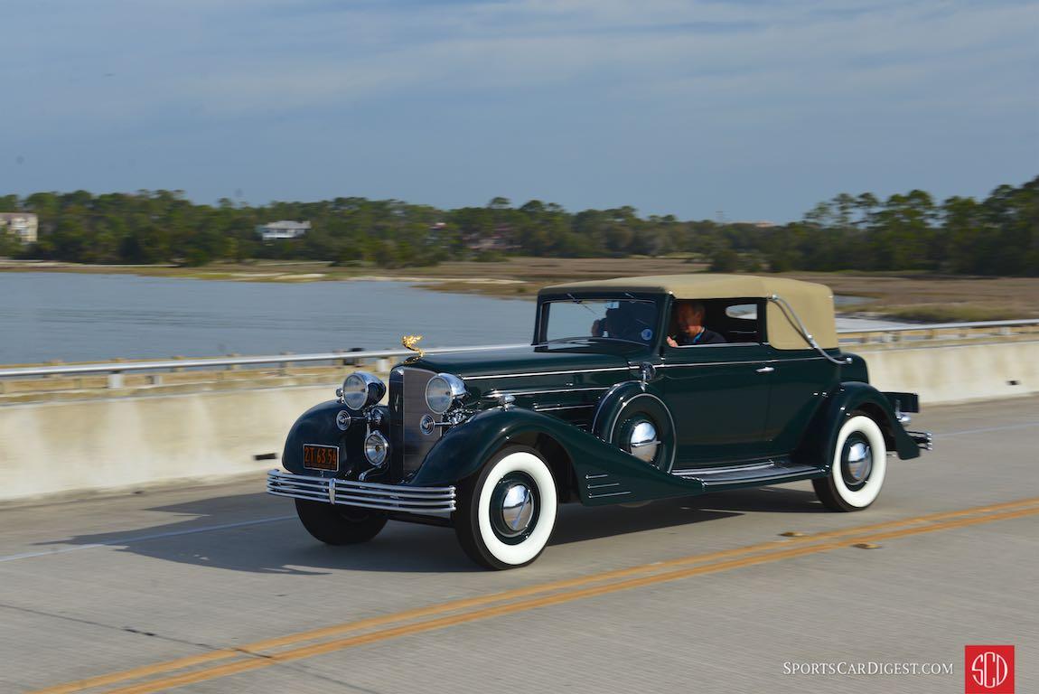 1933 Cadillac 452C Convertible Victoria