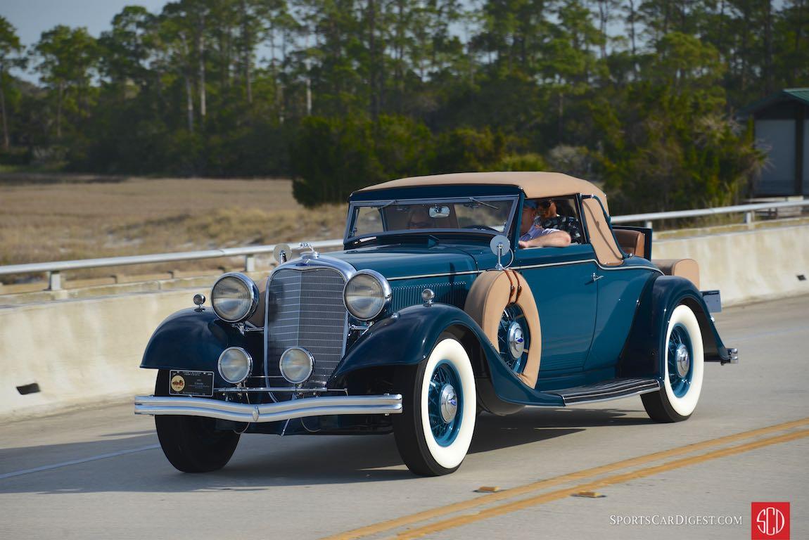 1933 Lincoln LeBaron KB Convertible Coupe