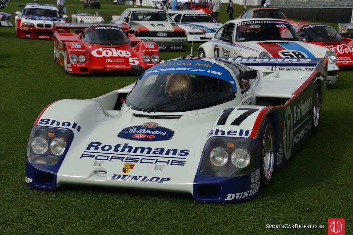 Le Mans winning Porsche 962C