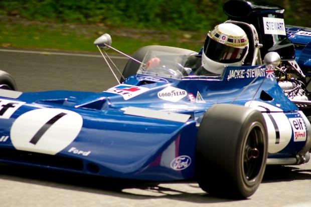 1971 Tyrrell 004 of John Dimmer