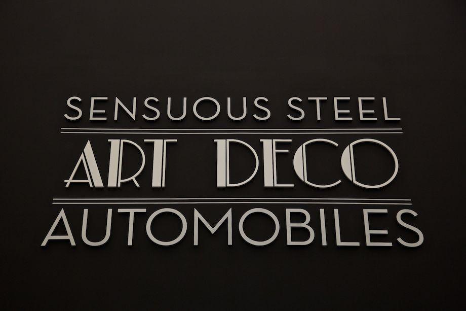 Sensuous Steel: Art Deco Automobiles