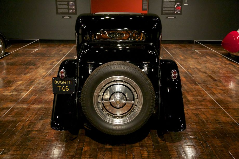 1934 Bugatti Type 46 Superprofile Coupe, Collection of Merle and Peter Mullin