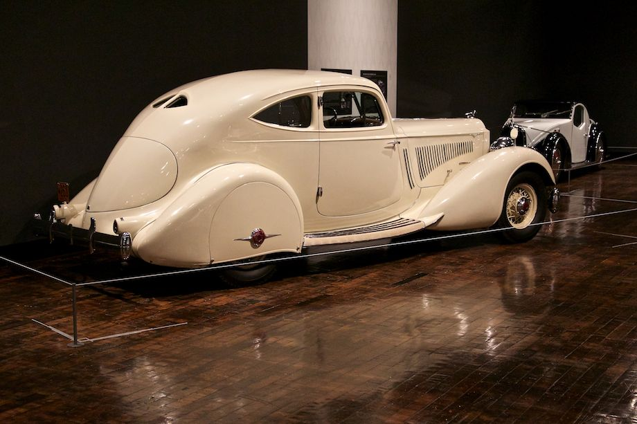1934 Packard Twelve Model 1106 Sport Coupe by Lebaron, Collection of Robert and Sandra Bahre