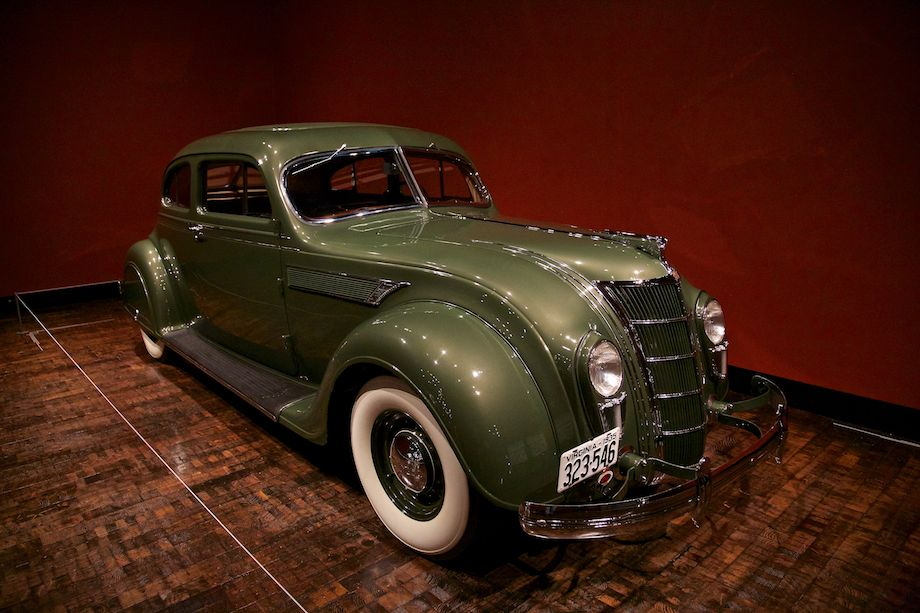 1935 Chrysler Imperial Model C-2 Airflow Coupe, Collection of John and Lynn Heimerl