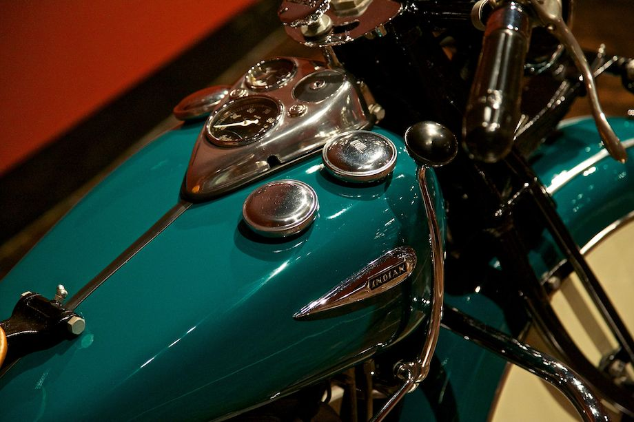 1940 Indian Chief, Collection of Gary Sanford