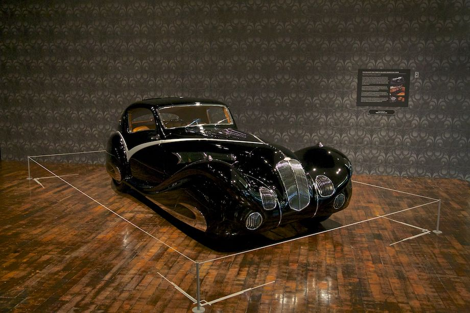1936 Delahaye 135M Figoni and Falaschi Competition Coupe, Collection of Jim Petersen