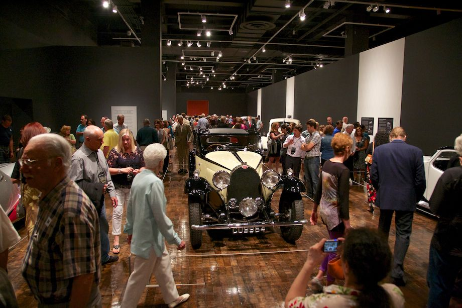 The main gallery was awash with people during the Member Preview.