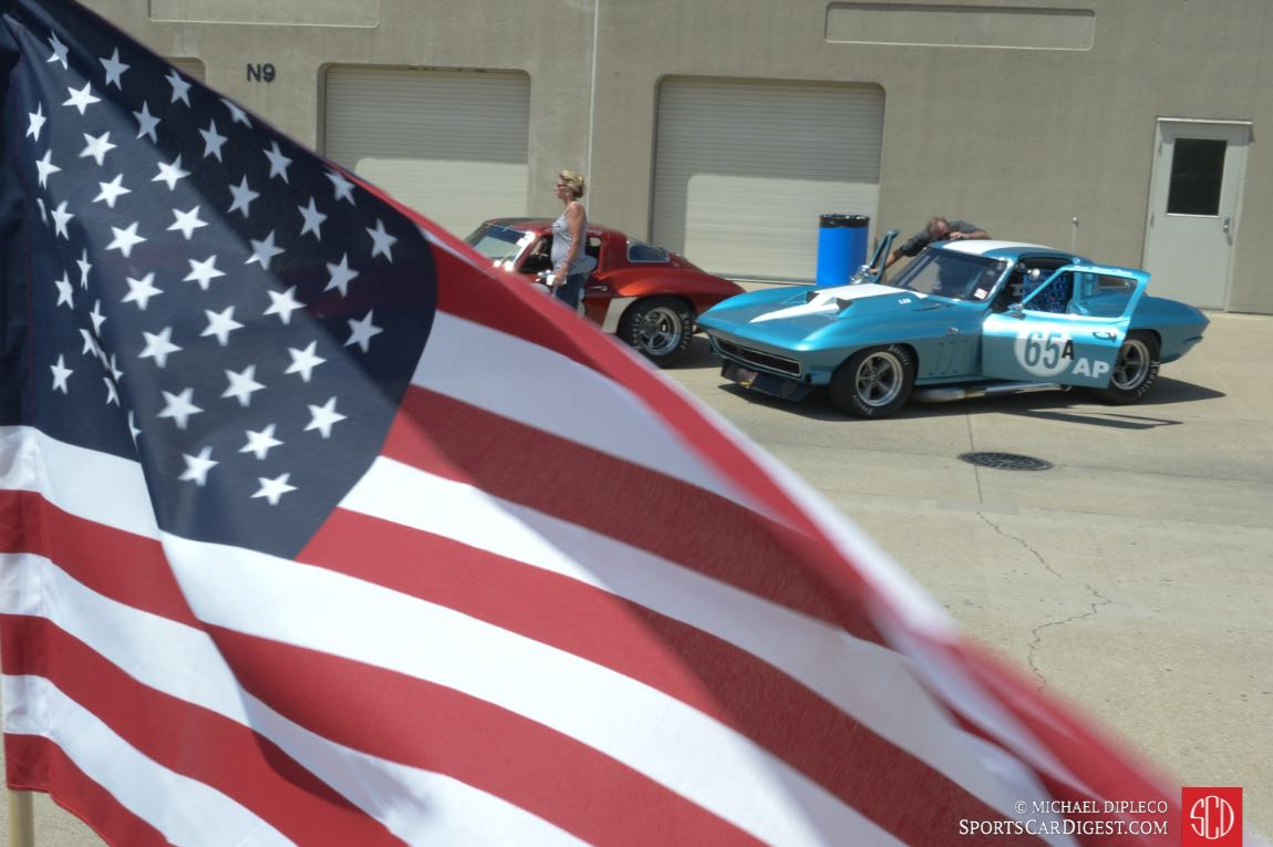 Corvettes and the Stars and Stripes
