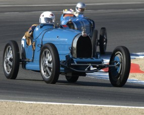 Bugatti Grand Prix at 2010 Monterey Historics