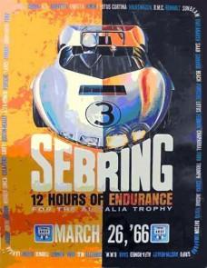 1966 Sebring 12 Hours Program