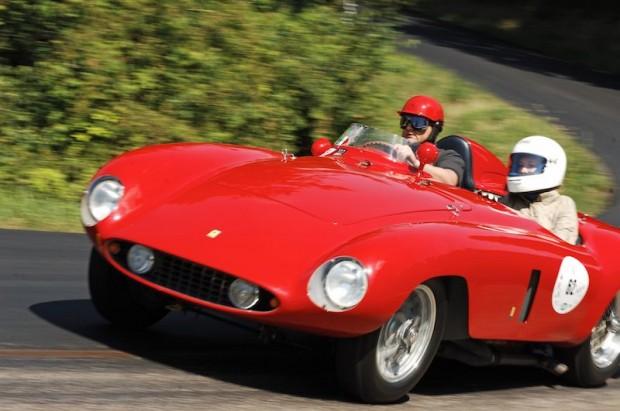 Michael Roeder's 1955 Ferrari 500 Mondial was raced by Terramazzo in period.