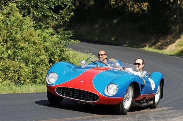 Vernasca regular Gabriele Artom brought his stunning 1957 Ferrari 500 TRC.